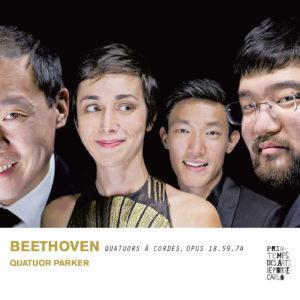 Beethoven : Quatuor à cordes op. 18, 59 et 74